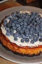 Blåbärs cheesecake