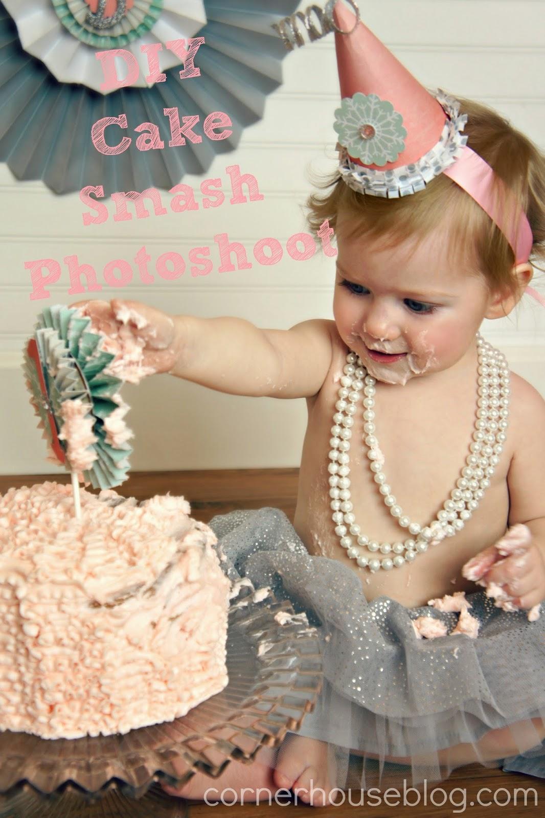 Bonnie S Winter Onederland Cake Smash Photo Shoot Diy Tutorial