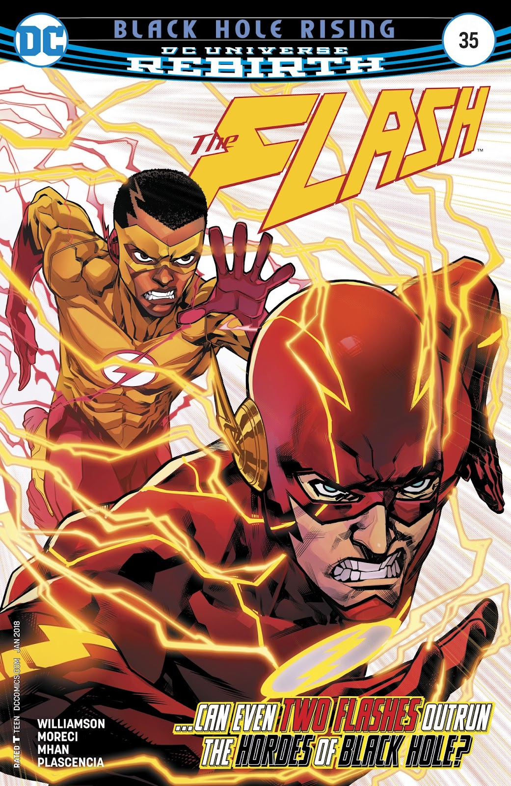 The Flash (2016) issue 35 - Page 1