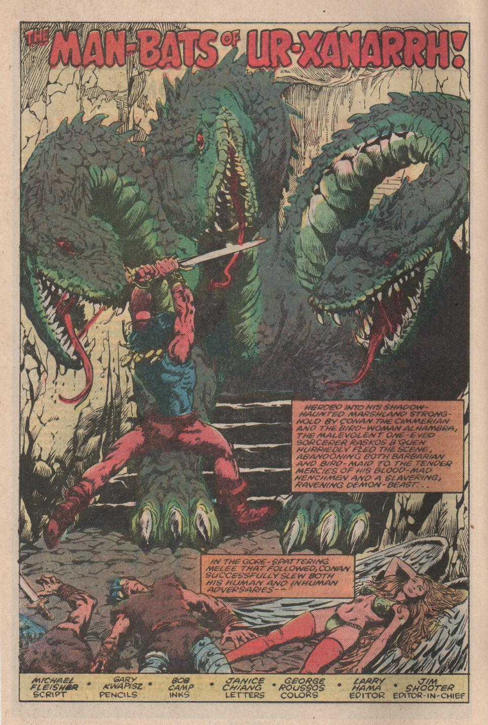 Conan the Barbarian (1970) Issue #154 #166 - English 3