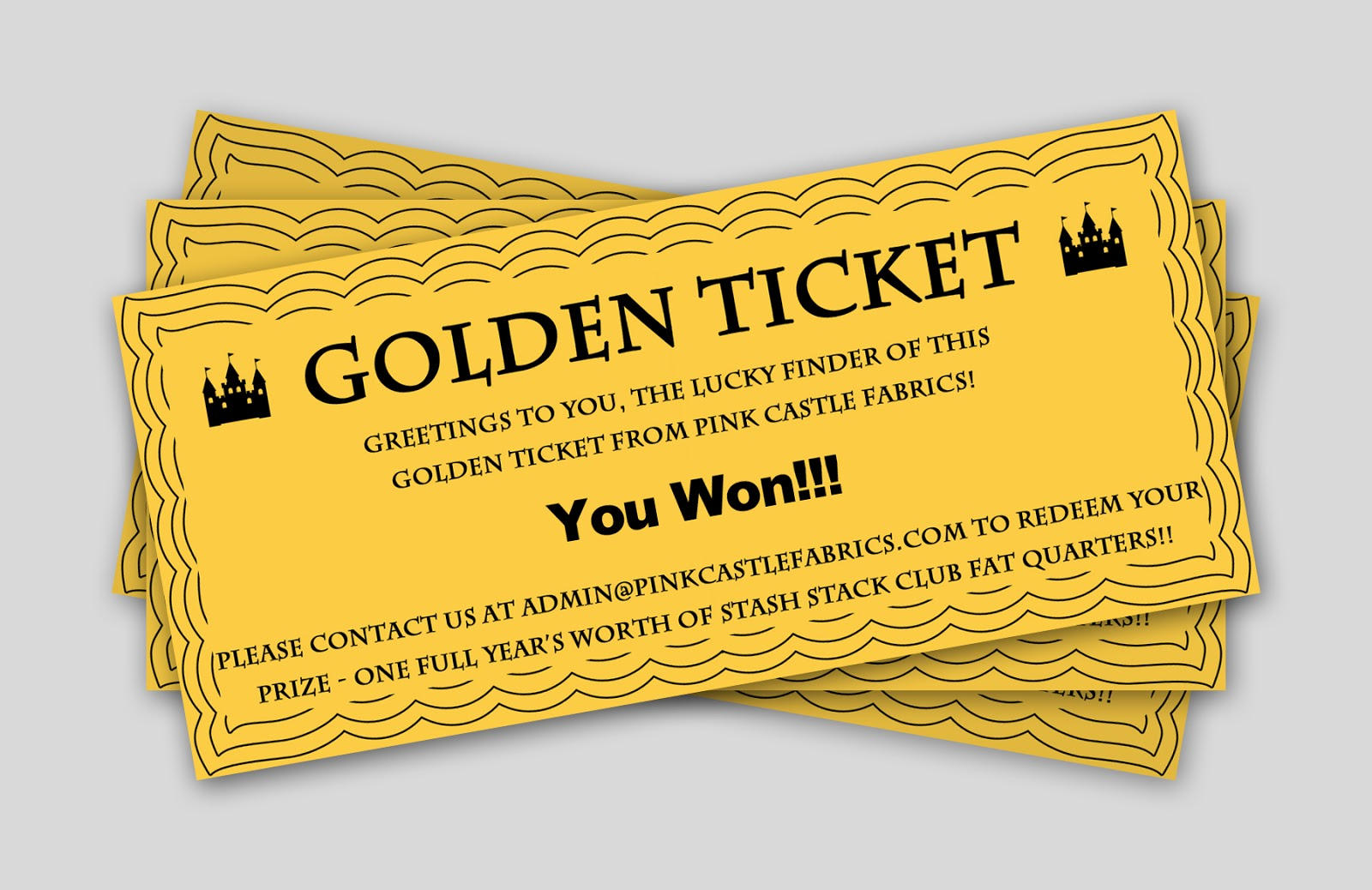 Pink Castle Blog Time For Another Season Of Golden Tickets
