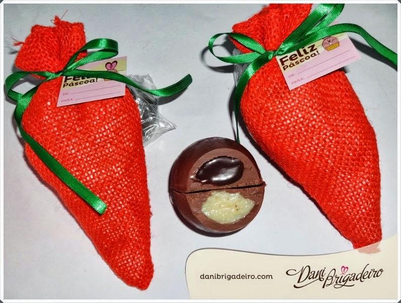 Ovos de Chocolate Trufados da Dani Brigadeiro
