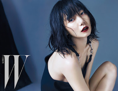 Bae Doo Na - W Magazine October Issue 2015