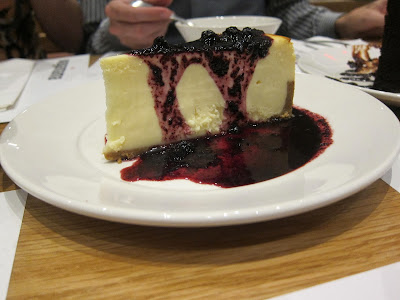 Vanilla cheesecake from wagamama | The Economical Eater