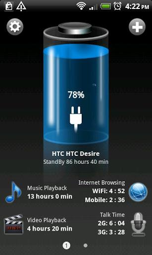 Bateria HD para Android imagen