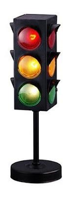 Traffic Light Lamp For Kids Room Photo