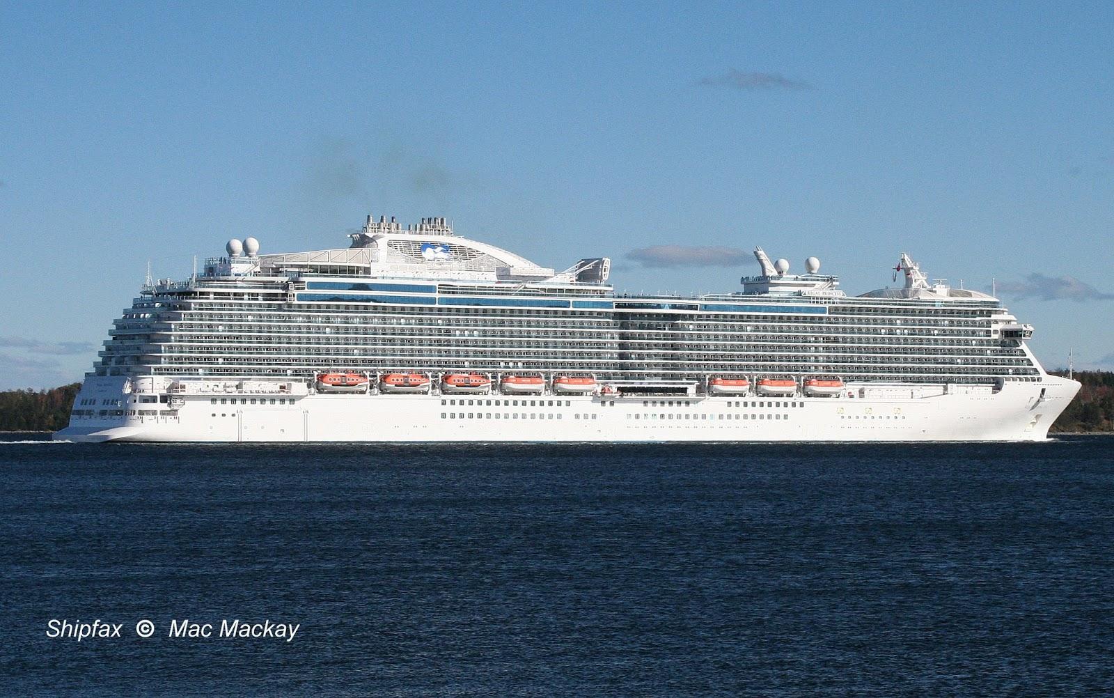 Shipfax Regal Princess Big Ship But