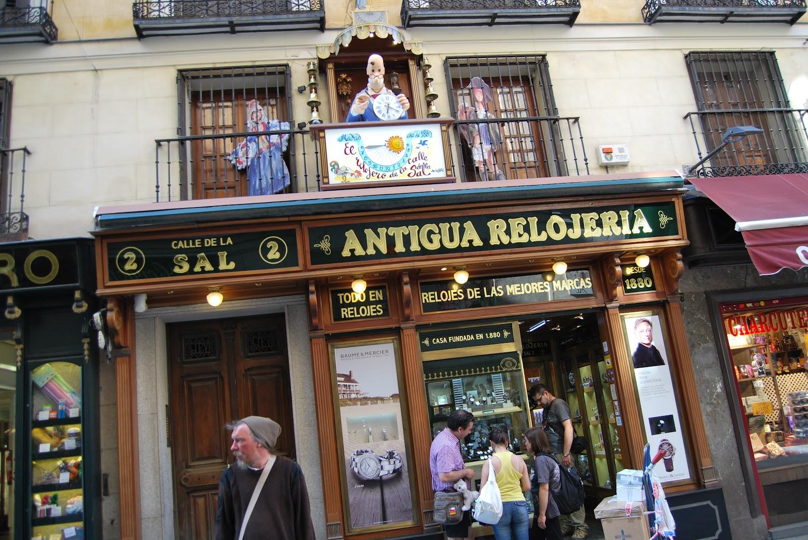 Madridimas lugares con encanto negocios de toda la vida - Lugares con encanto madrid ...