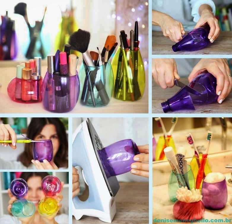 reciclando e criando com garrafa pet passo a passo