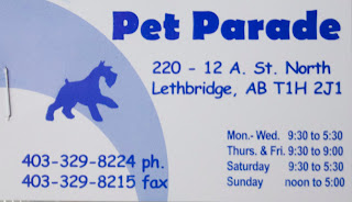 card Friendly Neighbourhood Pet Store