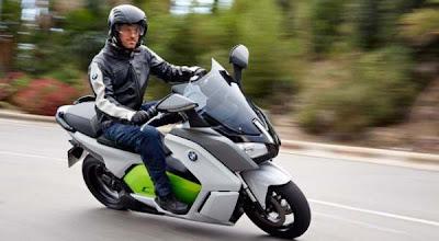 Skuter Listrik Terbaru dari BMW