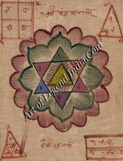 Shri Yaksha yantra