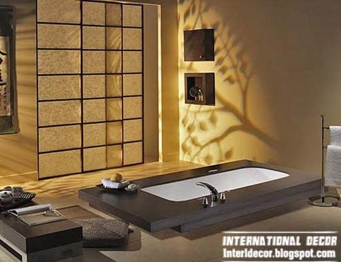 Japanese bathroom interior design and style