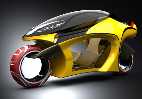 18 Futuristic Motorcycle Concepts - C-CONZEPT