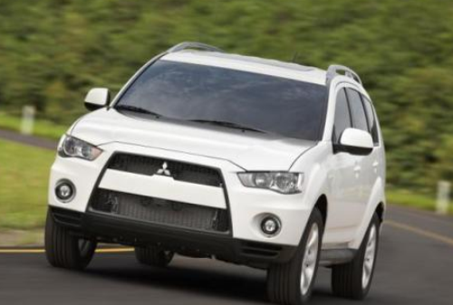 Wallpapper The Mitsubishi Outlander Car