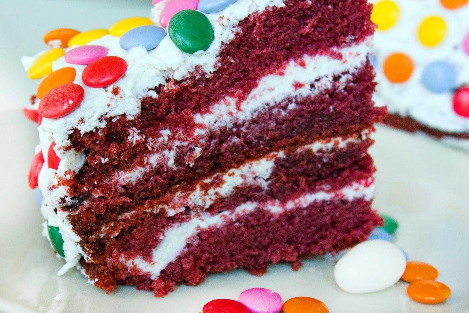 """рецепт торта """"Красный бархат"""""""
