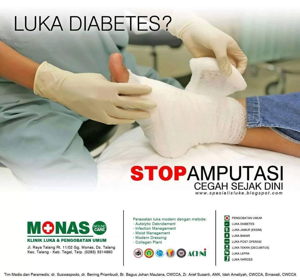 Luka Diabetes?