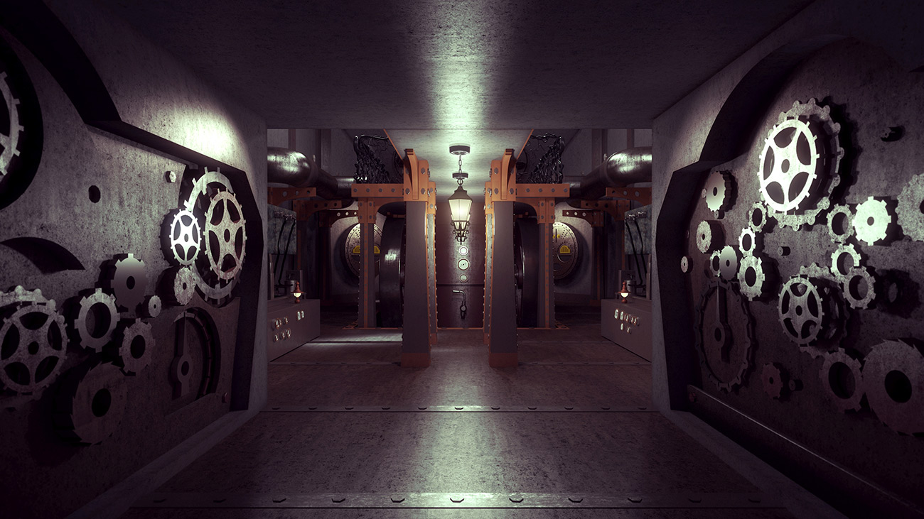 steampunk spaceship - Steampunk Interior Design Ideas