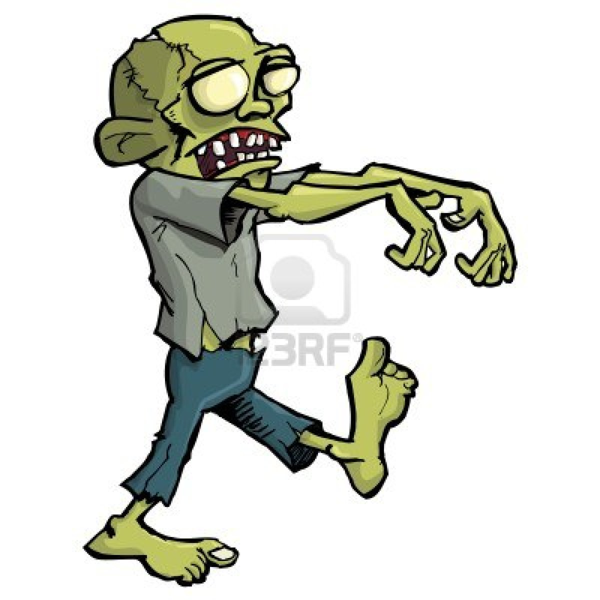 Zombie cartoon Stock Photos and Images. 15,791 Zombie ...