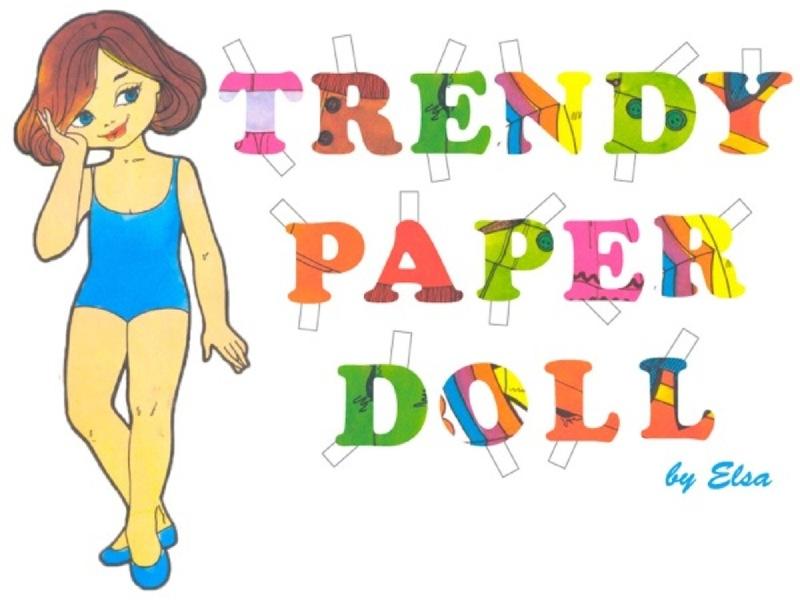TRENDY PAPER DOLL