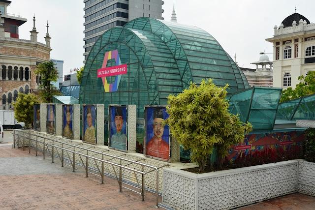 Merdeka Square Kuala Lumpur metro