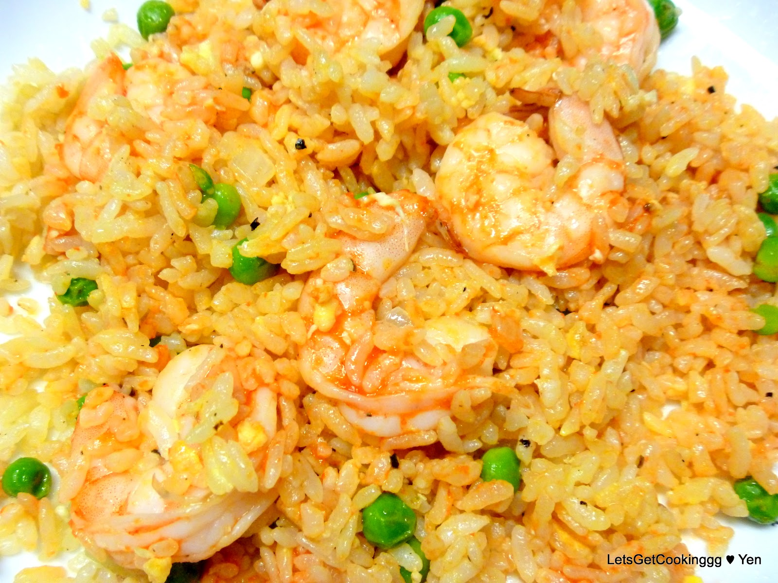 LetsGetCookinggg ♥ Yen: Shrimp Fried Rice