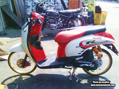 modifikasi scoopy pelek 17
