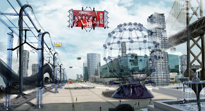 concepto de ciudades ilustracion