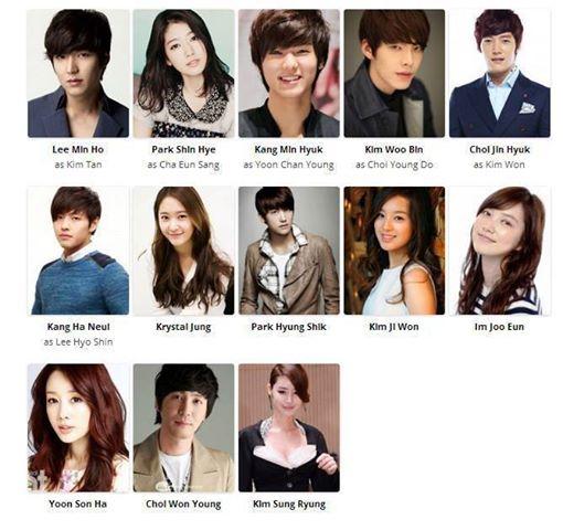 kristal jung - drama korea terbaru heirs, kisahromance