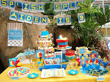 Aiden's 3rd Birthday Beach Party