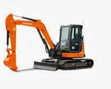 Hitachi ZX48U-5A Mini Excavator for Rent