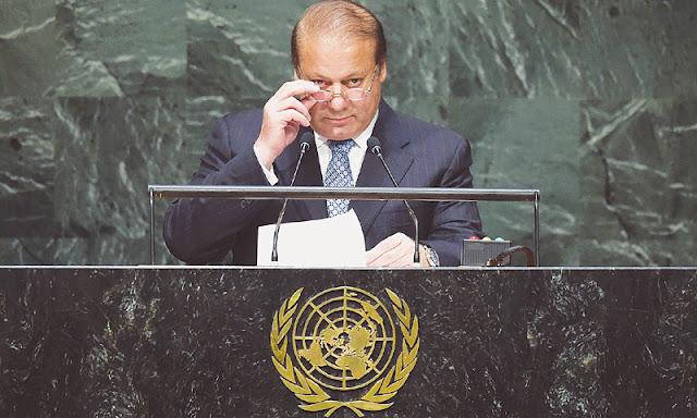 PM Nawaz will speech to UN at 30 September 2015.