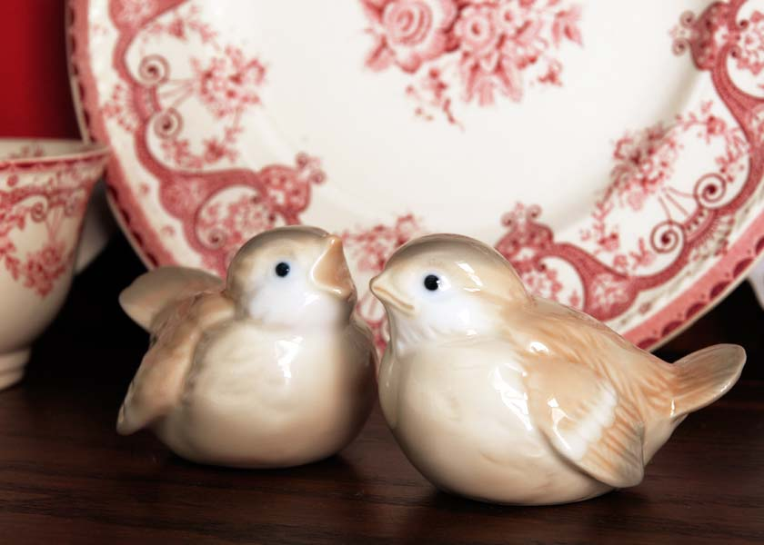 Otagiri porcelain birds