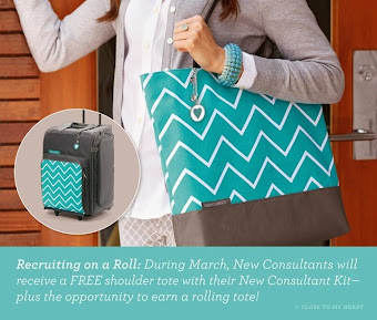 FREE Rolling Tote!