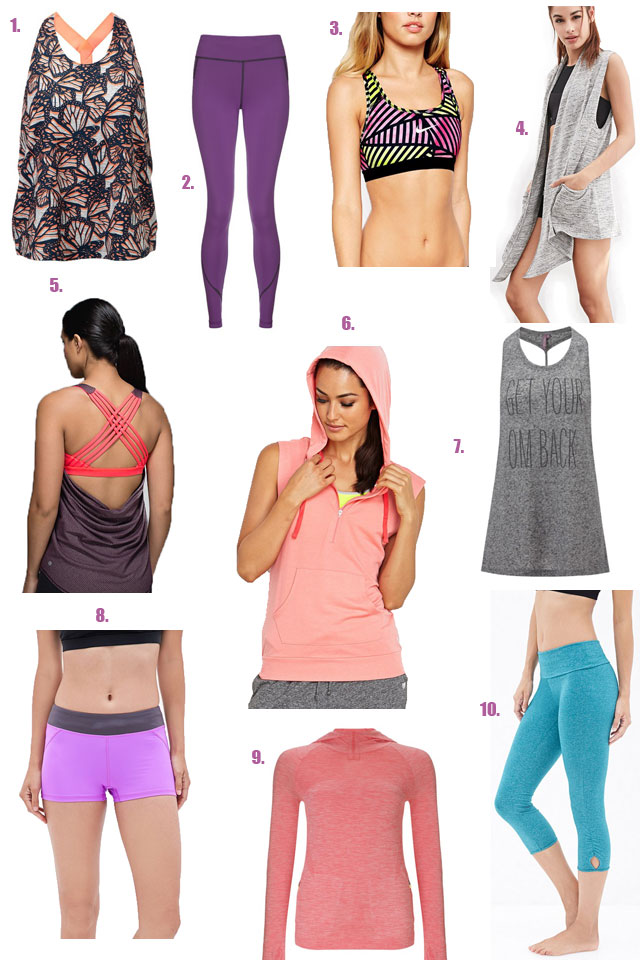 Workout Wear Wishlist | The Road to Less Cake