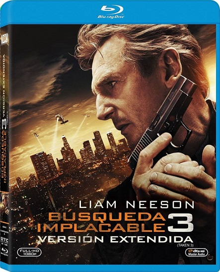 Taken 3 EXTENDED (Busqueda Implacable 3) (2014) 1080p BluRay REMUX 26GB mkv Dual Audio DTS-HD 5.1 ch