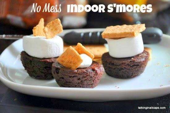 No Mess Indoor Smores