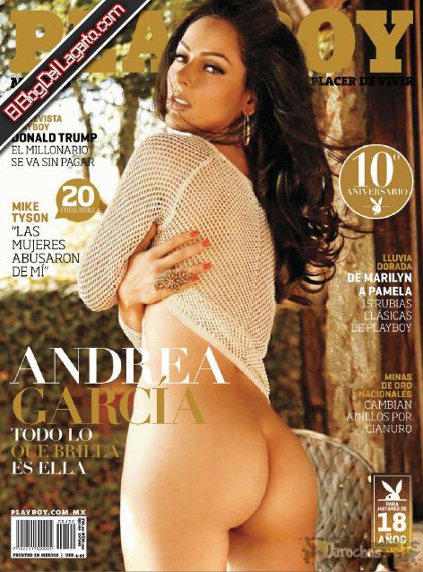 Revista PlayBoy Andrea García Octubre 2012