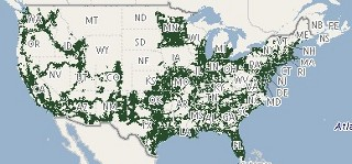 Maps For All Prepaid Carriers - Lyca mobile coverage map us