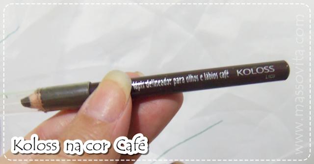 Lápis café Koloss