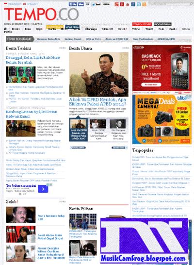 website berita online tempo.co