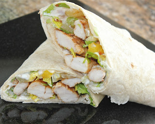 Photograph of CHICKEN FAJITA WRAP