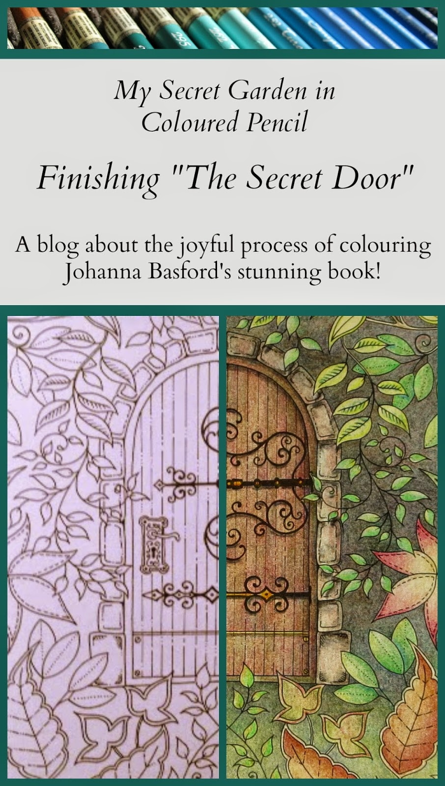 My Secret Garden Colouring Book Part 4 When Is A Drawing Finished That The Hardest Of And Painting