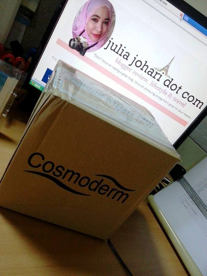 Cosmoderm Serum Tea Tree Kawalan Minyak Muka | Review Produk