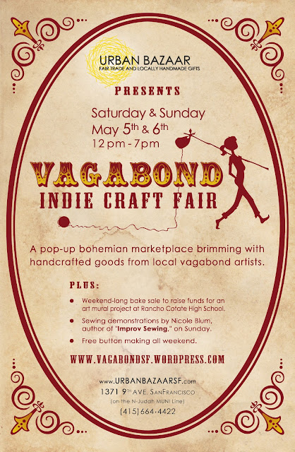 Vagabond Indie Craft Fair Poster