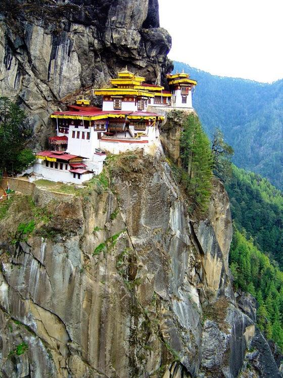 The Taktsang Monastery