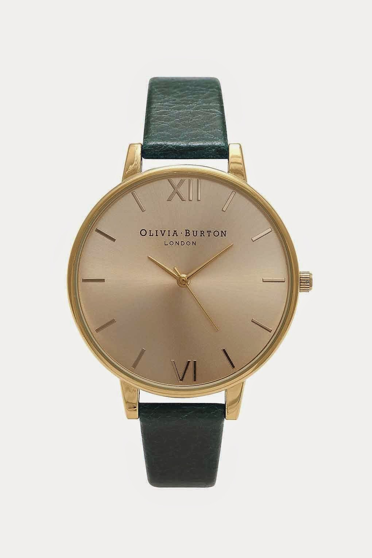 green olivia burton watch