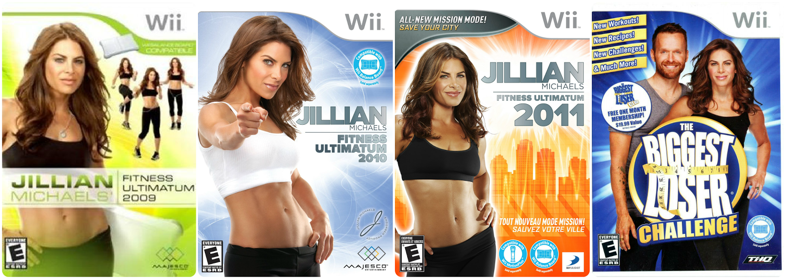 Jillian Michaels games for Wii  / L-vi.com