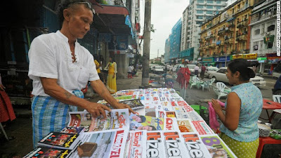 Nyein Chan Aye – Burmese Tabloid and Investigative Reporting