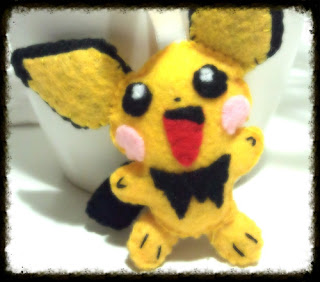 How to make a Pichu Plush ~ B4Astudios.com
